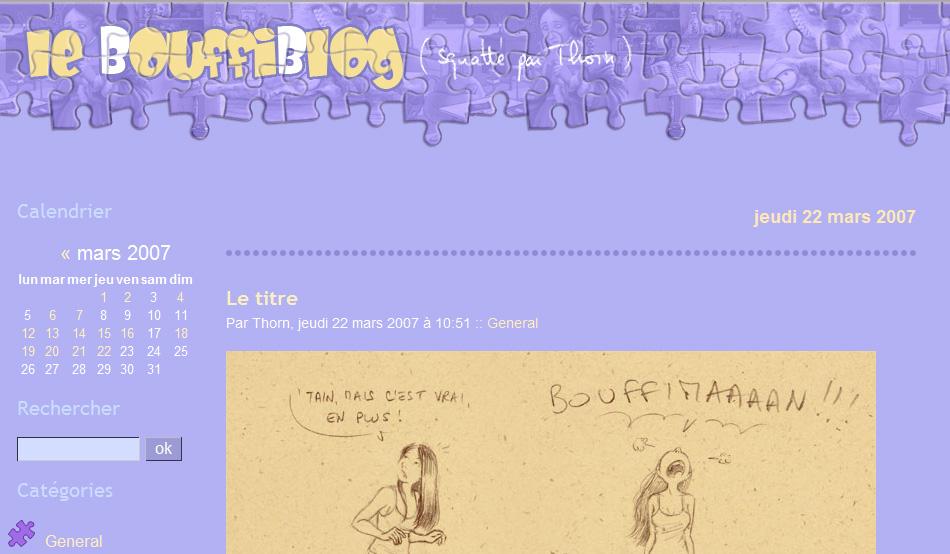 Le titre le bulleblog for Copie ecran