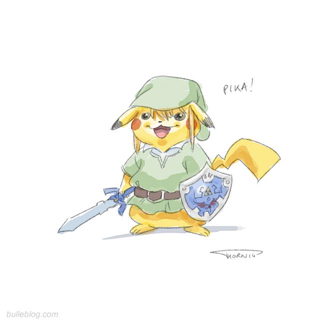 Pikachu le bulleblog - Pikachu en dessin ...
